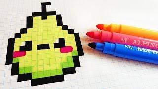 Dessin Pixel Nourriture