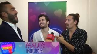 Mau & Ricky en el concierto Con Todo Amor 2017