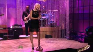Christina Aguilera - Bound To You (Tonight Show With Jay Leno)