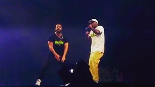 "Drake brought out Skepta to perform ""Shut Down"" Live in London 