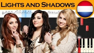 OG3NE - Lights and Shadows - The Netherlands 2017 - Piano tutorial