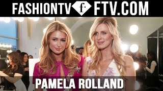 Pamela Rolland Arrivals at London Fashion Week F/W 16-17 | FashionTV