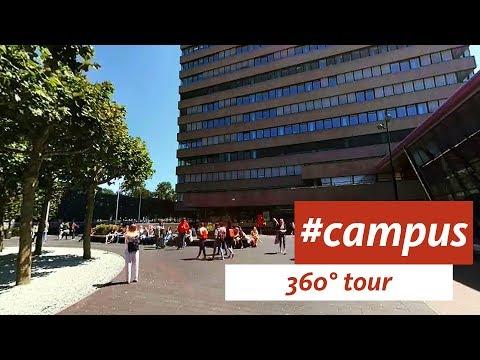 Radboud University Virtual Campus Tour (360 VR video)