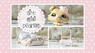 LPS DIY: Miniature Bedroom
