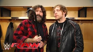 Mick Foley gives Dean Ambrose a familiar equalizer: Raw, March 14, 2016