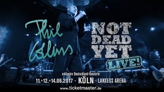 Phil Collins Tour 2017: Not Dead Yet! | Ticketmaster