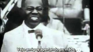 What A Wonderful World   Louis Armstrong legendado