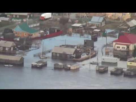 Аварийно-спасательная работа в Шурышкарском районе часть 1