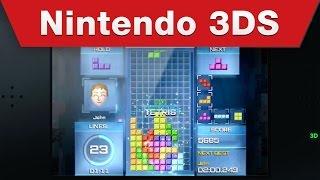 Nintendo 3DS - Tetris Ultimate Launch Trailer