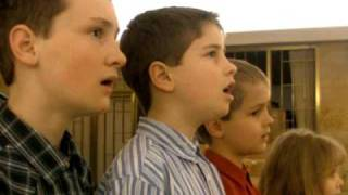Kids sing Gregorian Chant (Ave Maria)