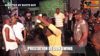 PRESTATION DE DON SWING AU CONCERT LIVE DE DJ LEO AU NPA