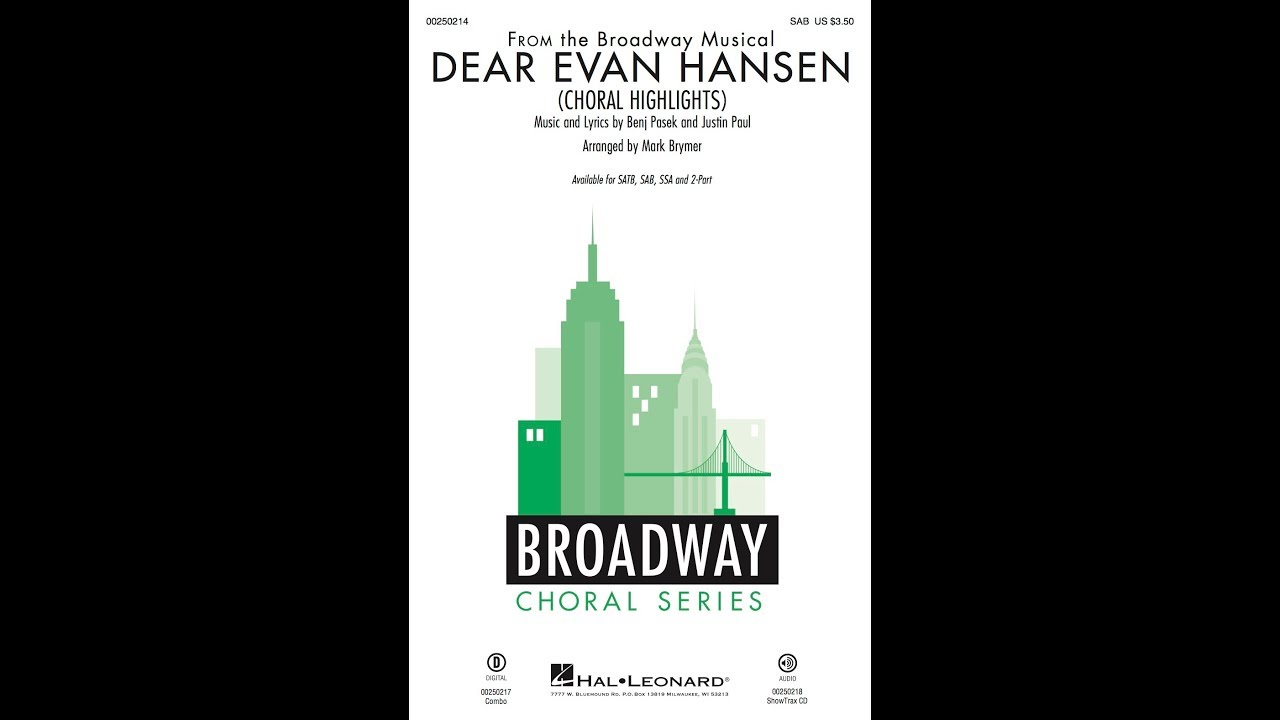 Dear Evan Hansen Musical Tour South Florida July