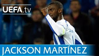 Jackson Martínez: Goal for Porto against Bayern