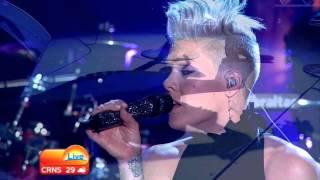 P!nk Who Knew Live The Today Show Australia