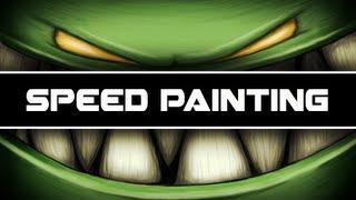 Feed Me   Speed Painting (Beginner)