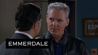 Emmerdale - Frank Tells Graham He Found Megan's Pregnancy Test | PREVIEW