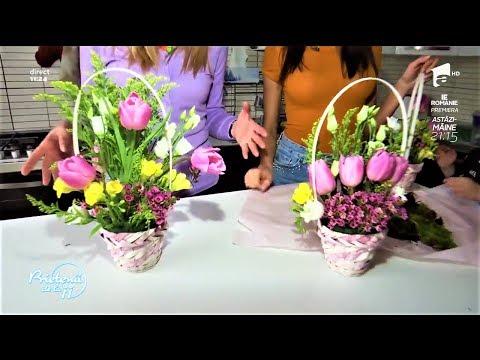 Cum să îţi confecţionezi mărţişoare din flori