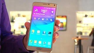 El Samsung Galaxy Note 4 tiene pantalla QHD, procesador de 2.7GHz y nuevo S Pen