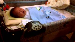 Baby's cute crying sound