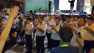 Banda do Samouco toca A PORTUGUESA