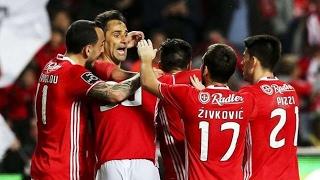 Benfica 3-0 Nacional; 20ª Jorn. Liga 2016/17; Golos do Benfica com relato