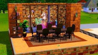 Как в Sims 3 сделать большой аквариум