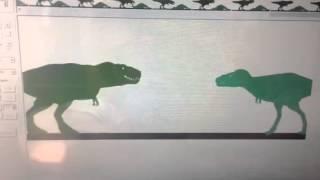 Tyrannosaurus rex vs tyrannosaurus bataar