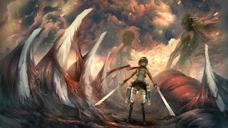 (OST) Attack on titan season 2 episode 3 ending exact OST (armored titan ost)