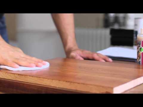 Come rimuovere la finitura a olio dai mobili in legno fai da te mania - Olio di lino per mobili ...