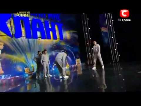 Ukraine s got talent 2012   Crazy Jump 1