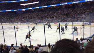 Lightning vs. Penguins Live! Crosby goal! Amelia Arena Tampa Bay, Fl 12/10/16