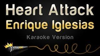Enrique Iglesias - Heart Attack (Karaoke Version) width=