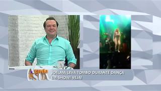 """""""Cavalo ficou manco de verdade"""", brinca Sonia Abrão sobre queda de Joelma"""