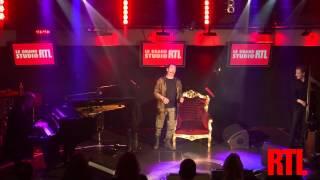 Florent Pagny - Le jazz et la java en live dans le Grand Studio RTL présenté par Eric Jean-Jean