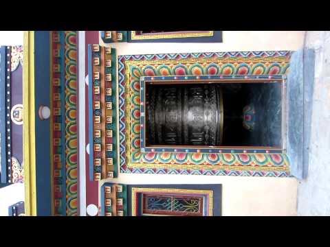 Huge Prayer Wheel