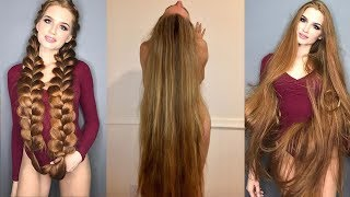 Real Life Rapunzels - Extremely Long Hair Girls of Instagram and Facebook width=