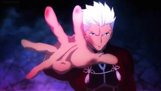 Really Slow Motion Suns and Stars - Fate Stay Night Unlimited Blade Works AMV