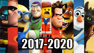Upcoming Animated Movies 2017-2020