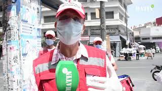 Covid-19 : Opérations de sensibilisation sur le port du masque et la prévention à Casablanca