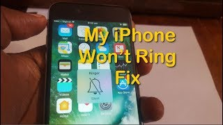 My iPhone won't ring fix