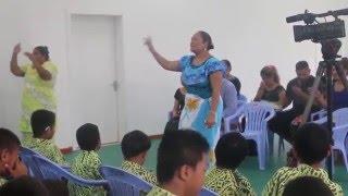Annie spreads love at Loto Taumafai