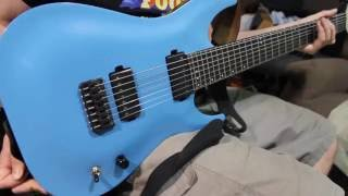Custom Painted Schecter km7 Demo