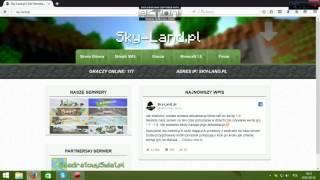 Poradnik jak zainstalować Minecraft SkyLand.
