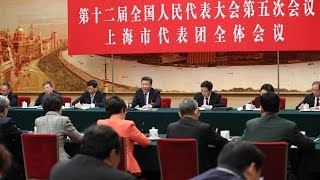 President Xi calls for deeper reform and faster development in Shanghai