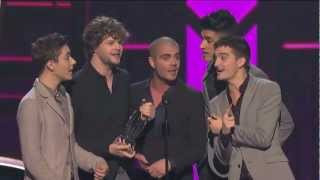 The Wanted win Best Breakout Artist at the People's Choice Awards 2013