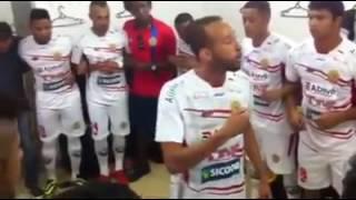 ITAPORÃ AGORA: Discurso Motivacional de Eduardo Arroz no vestiário antes do jogo contra o Comercial