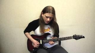 Aerosmith - Amazing (guitar solo cover)