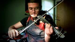 DJ Snake, AlunaGeorge - You Know You Like It, electric violin cover by Steve Ramsingh