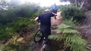 Hell For Leather MTB CRASH!! DH Badger.