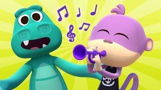 Cha cha cha del Cocodrilo - Las Canciones del Zoo 3